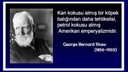 Bernard Shaw -Amerikan emperyalizmi