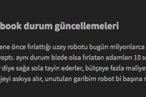türkiye uzay çalışmaları