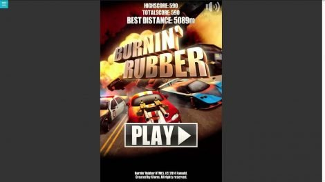 Burnin Rubber Android Cep yarış oyunu