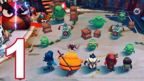 Angry Birds Evolution 3D Android cep oyunu İndir