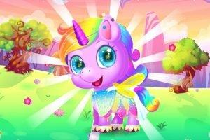 Sevimli Unicorn Bakımı Kız Oyunu