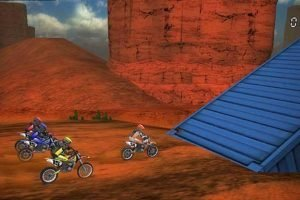 Motosiklet yarışı indir. Desert Racing