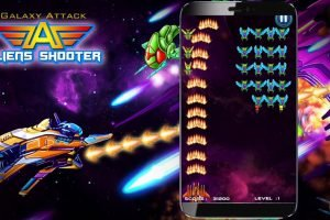 Galaxy Attack: Alien Shooter Android cep oyunu indir