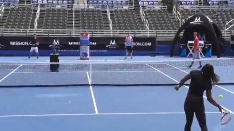 serena williams tenis show