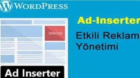 wordpress en iyi reklam eklentisi