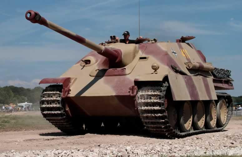 Alman tank avcıları JagdPanther