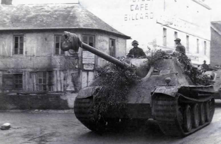 2.dünya savaşı JagdPanther tankı