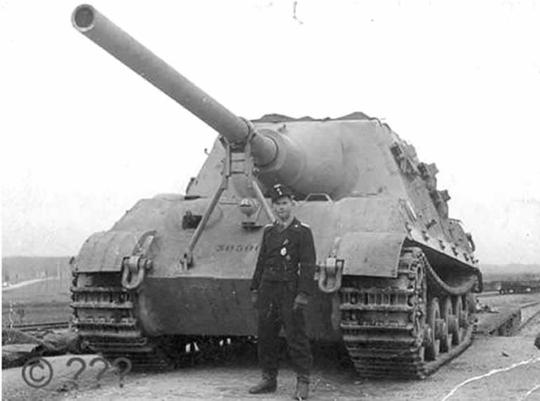 JagdTiger in WWII